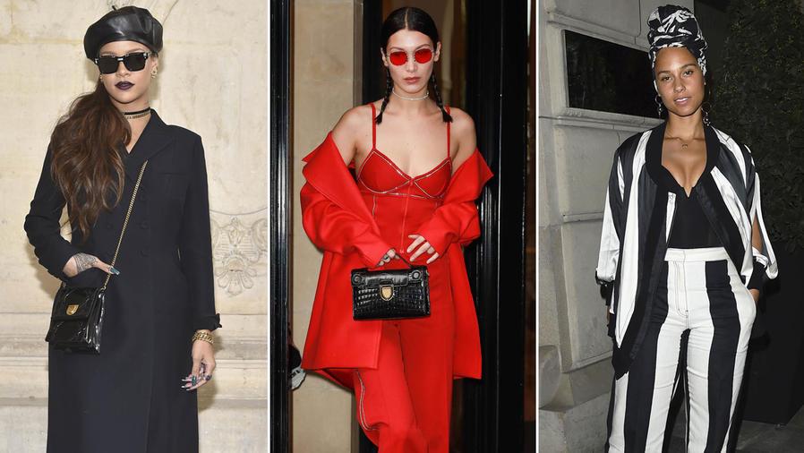 Celebridades en el París Fashion Week otoño-invierno