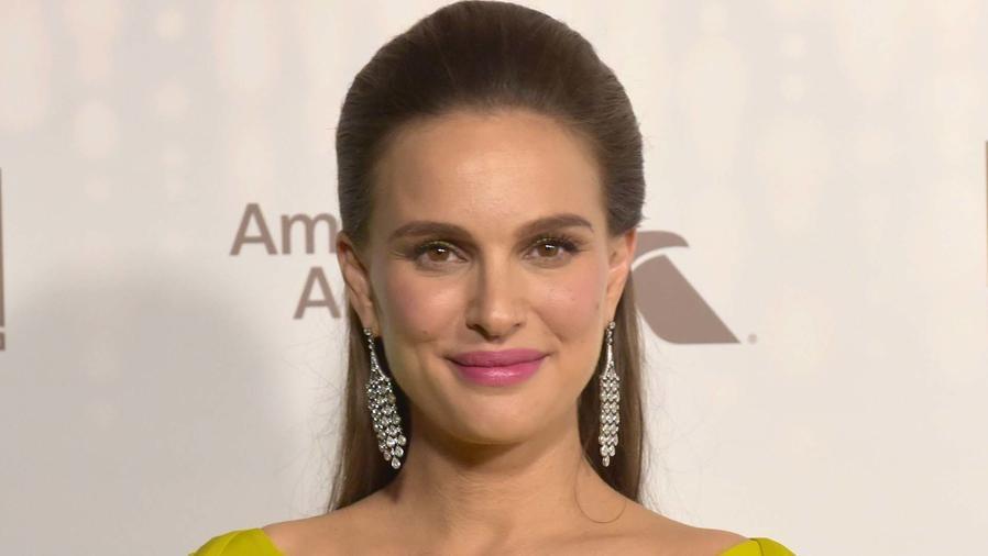 Natalie Portman sonriendo