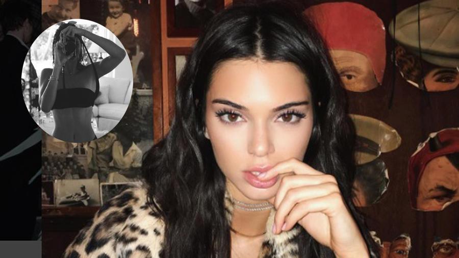 Kendall Jenner selfie en bikini