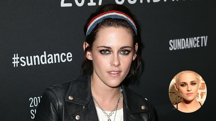 Kristen Stewart mostrando sus cambios de look