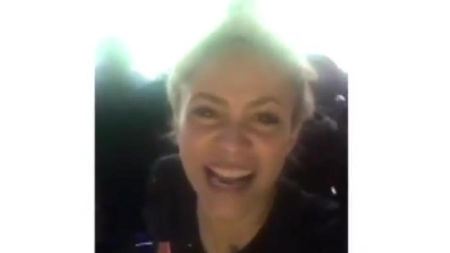 Shakira en el estadio Camp Nou