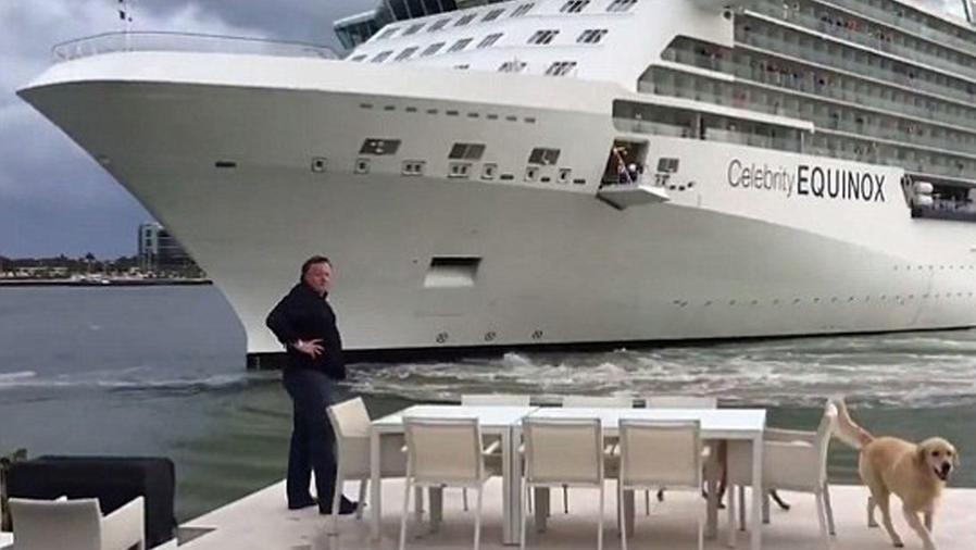 crucero estrellarse mansión