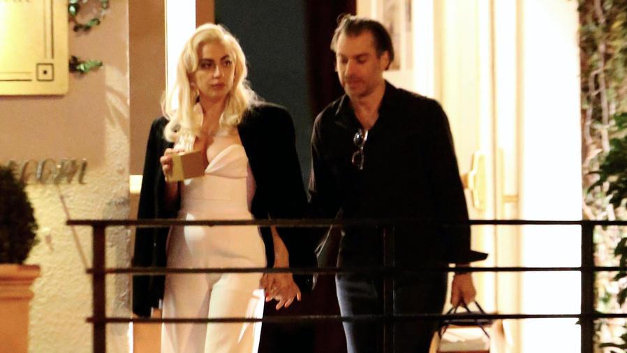 Lady Gaga con Christian Carino