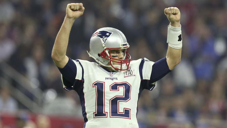 Tom Brady festejando