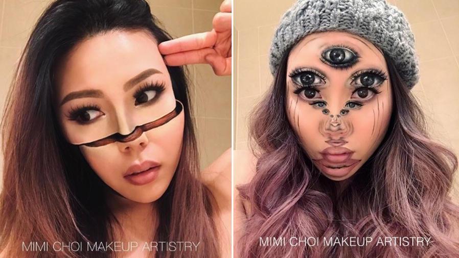 Ilusiones ópticas de Mimi Choi