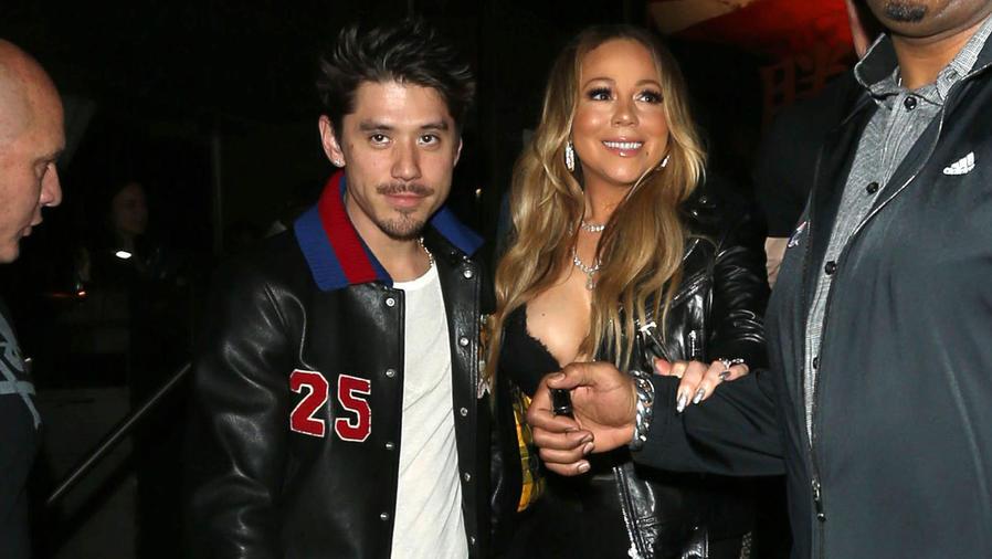 Mariah Carey y Bryan Tanaka en Los Ángeles