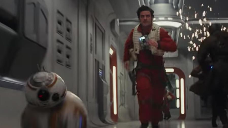 """Óscar Isaac en el primer tráiler de """"Star Wars: The Last Jedi"""""""