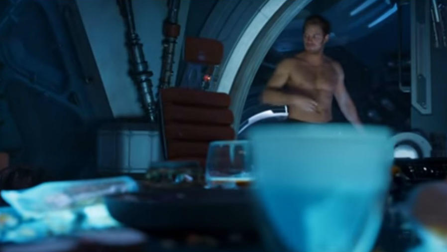 "Chris Pratt en ""Guardians of the Galaxy Vol. 2"""