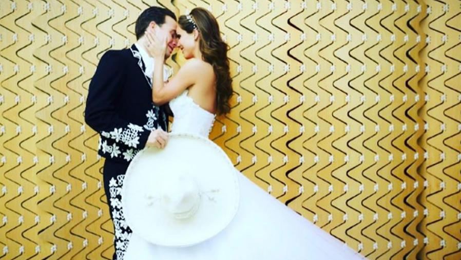 Aniversario de bodas de Anahí