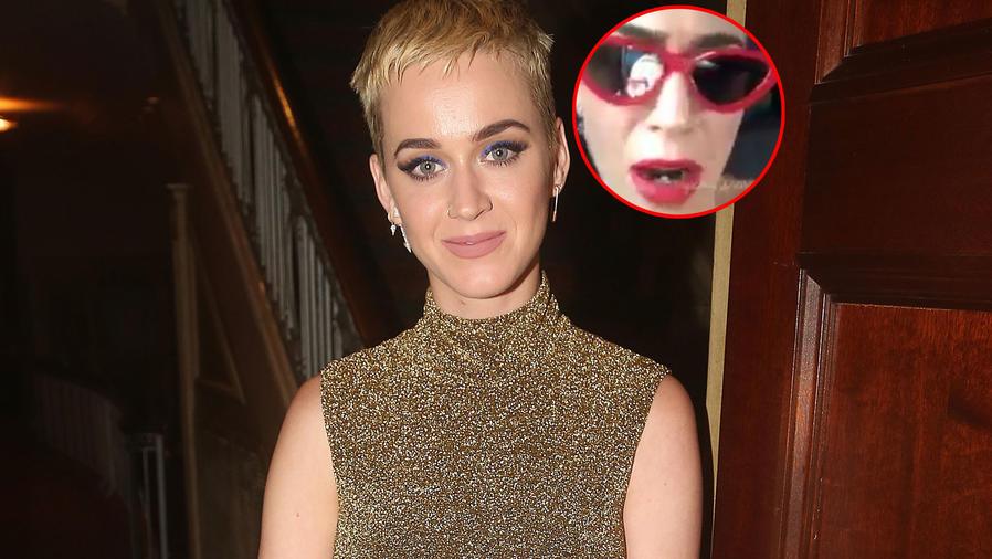 Katy Perry reaccionó a las críticas por su cabello
