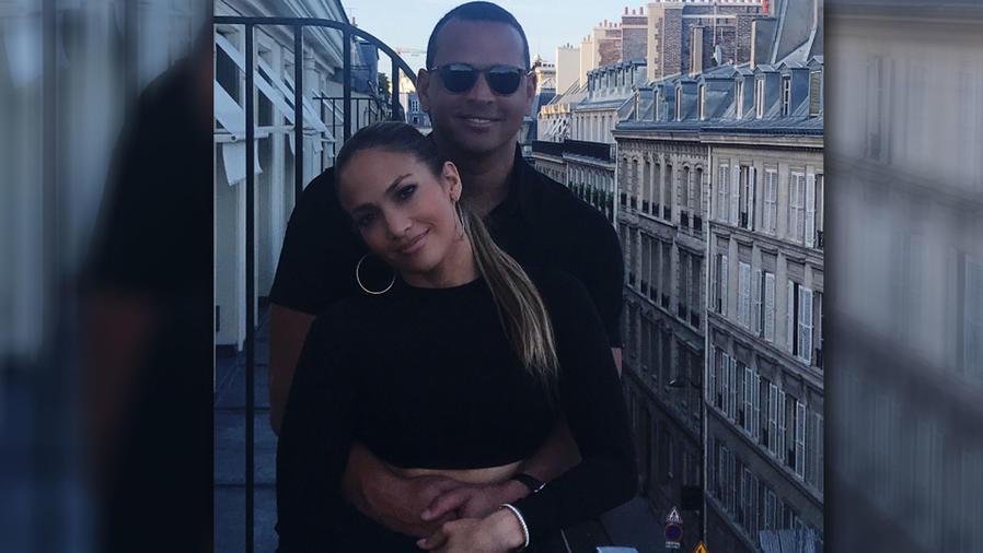 Jennifer Lopez y Alex Rodriguez disfrutaron de su amor