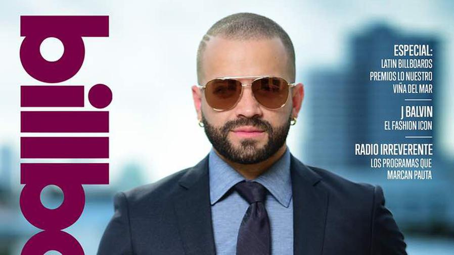 Nacho en la portada de Billboard Venezuela