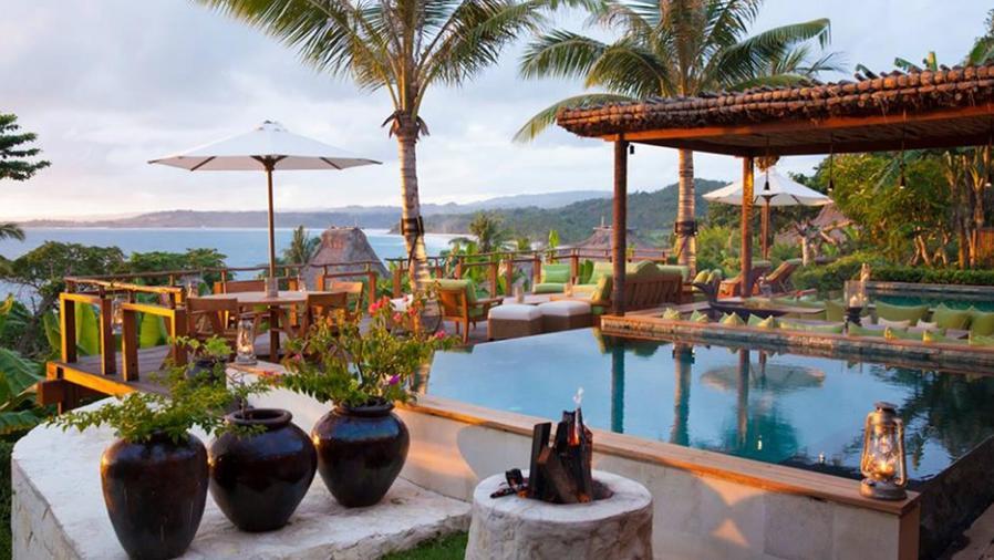 Hotel en la isla Nihi Sumba Indonesia