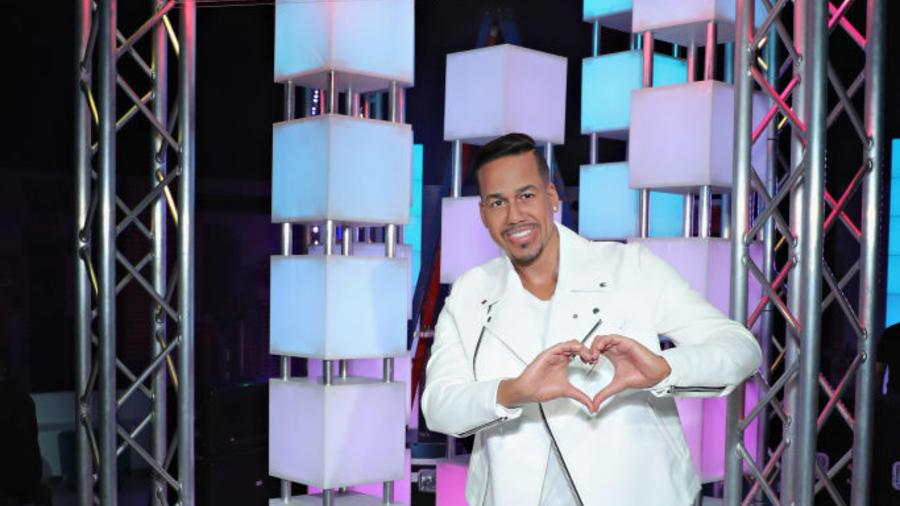 Romeo Santos Meets 'Imitadora' Wax Figure at Opening of Madame Tussauds New York's Latin Music Experience, Sabor Latino