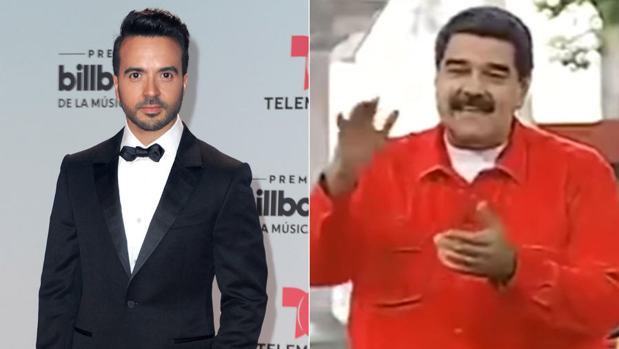 Luis Fonsi; Nicolás Maduro