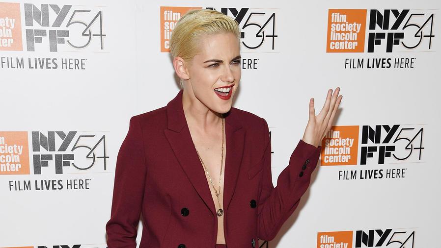 Kristen Stewart haciendo gestos