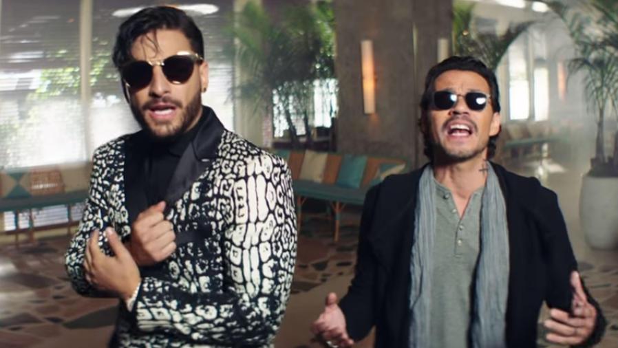 """Maluma y Marc Anthony estrenan el video """"Felices los 4"""""""