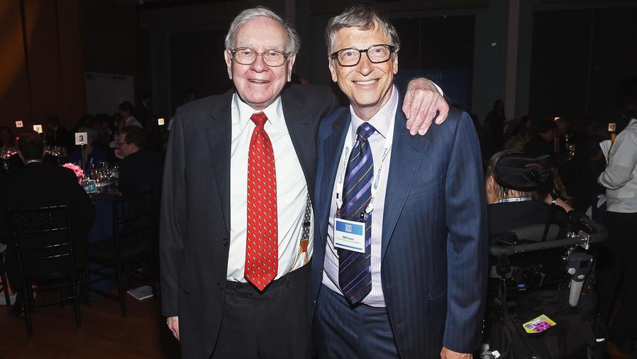 Warren Buffett y Bill Gates