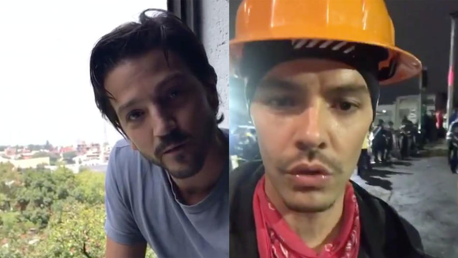 Diego Luna and Jesse Huerta