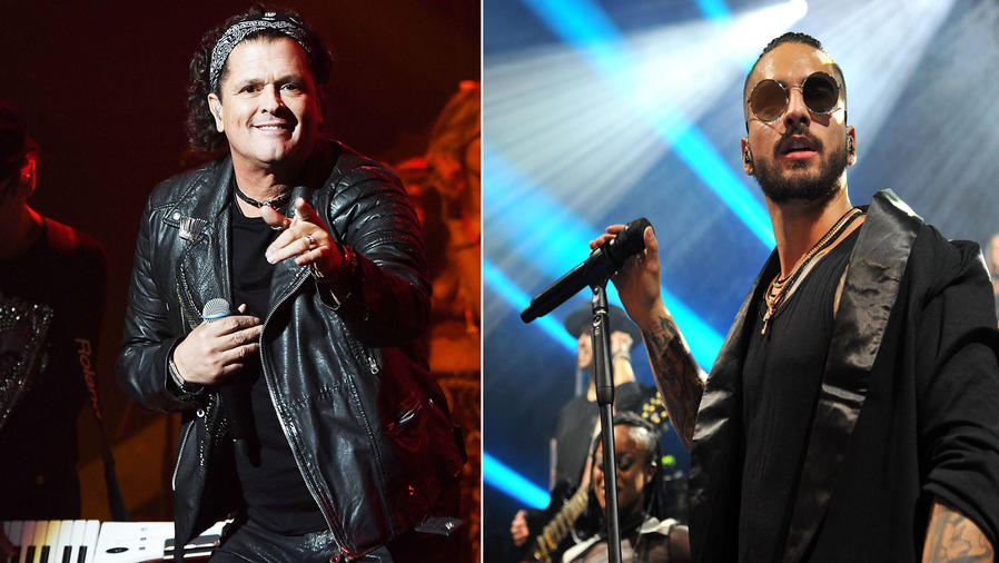 Maluma y Carlos Vives