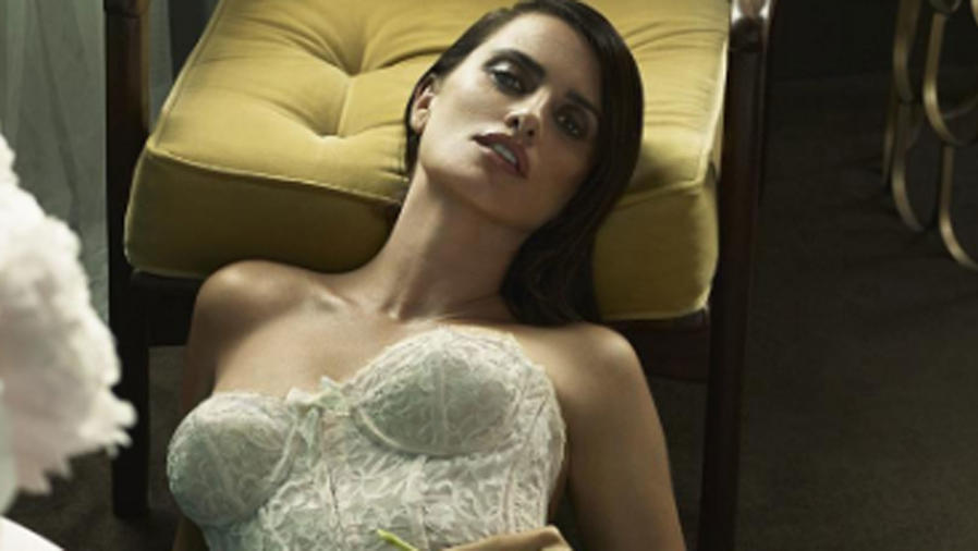 Penélope Cruz en lencería
