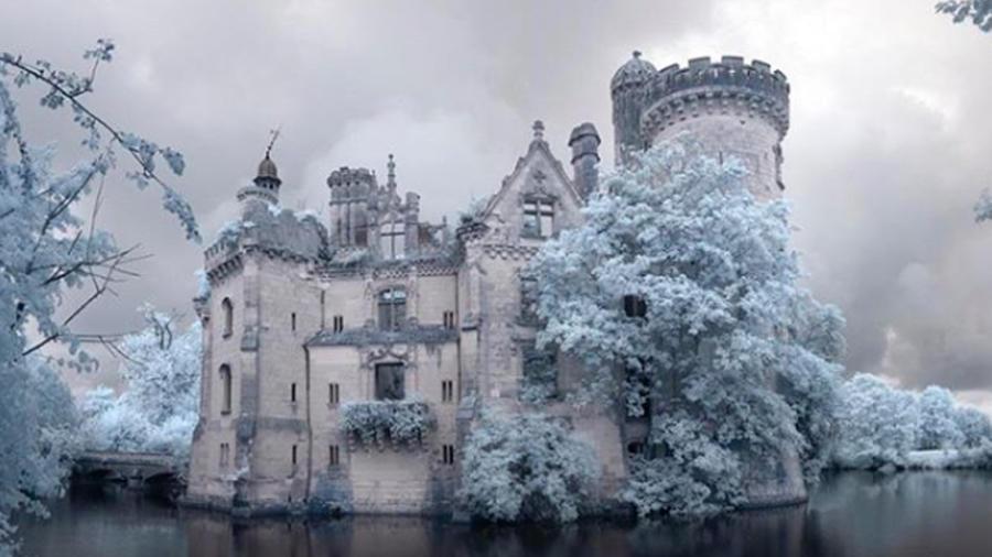 Château de la Mothe-Chandeniers, Francia