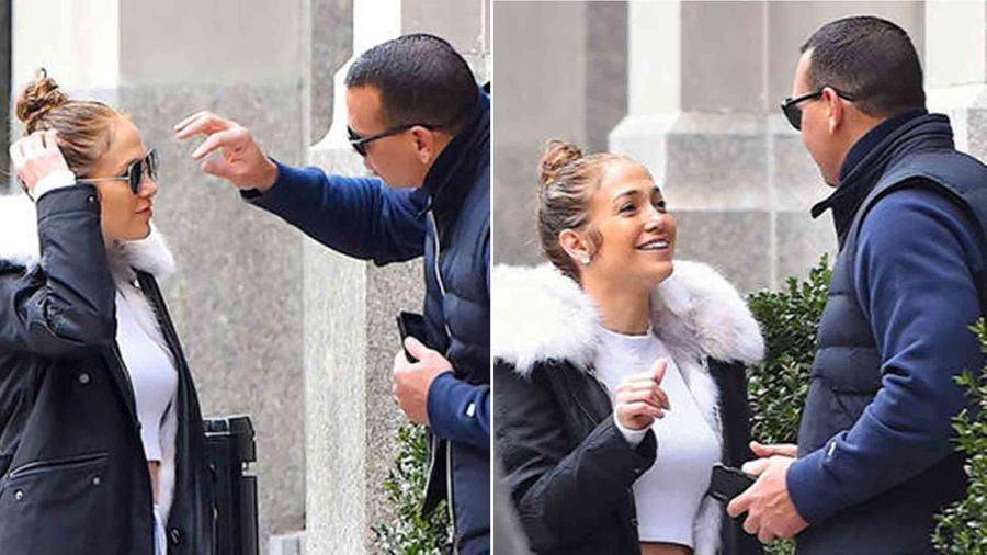 These Photos of Jennifer Lopez and A-Rod Prove They're Just Like Any Other Couple