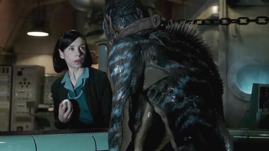 "Guillermo Del Toro's ""Shape of Water"""