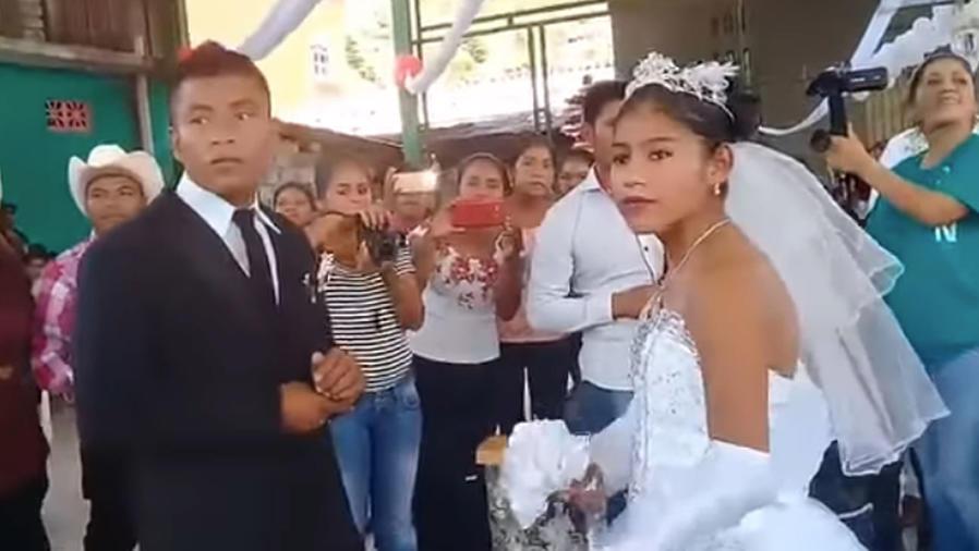 México: la boda más triste del mundo se hace viral (VIDEO)