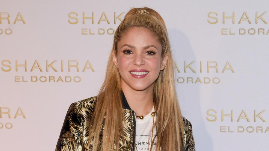 Shakira sonriendo, junio 2017