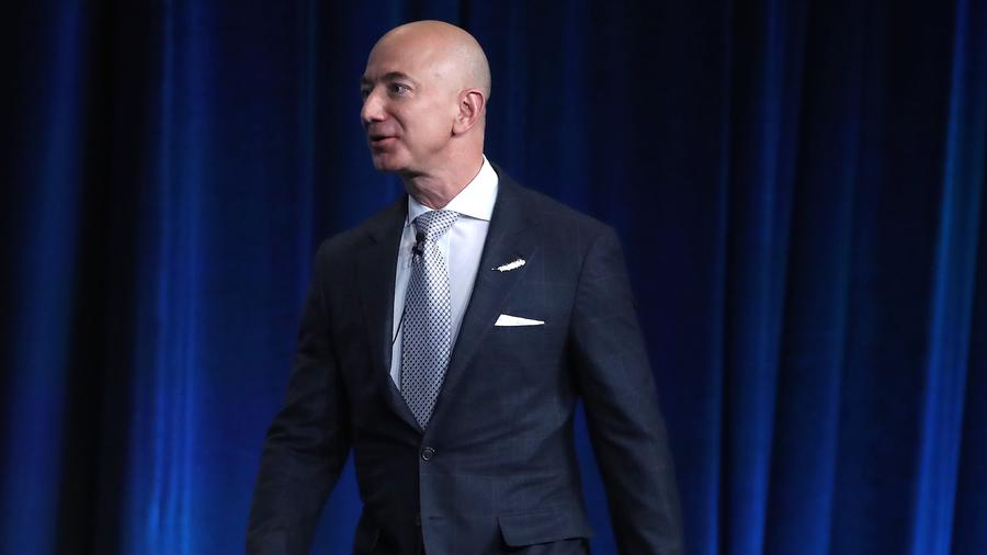 Jeff Bezos, fundador y CEO de Amazon