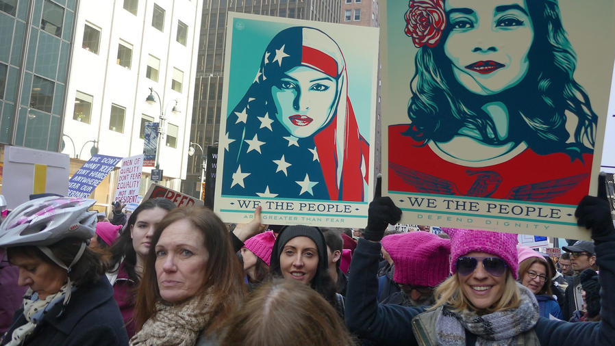 Women's March, 21 de enero 2017, Nueva York