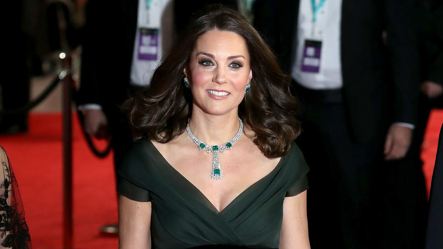 Kate Middleton en los premios BAFTA 2018