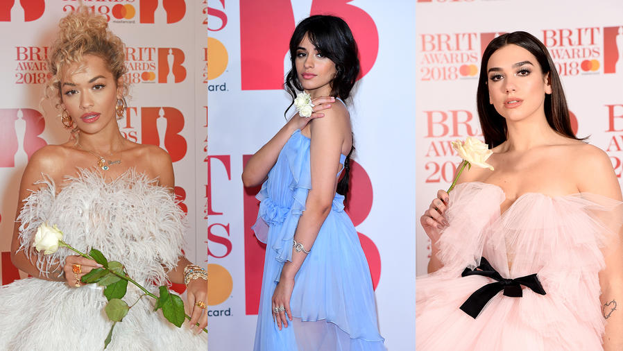 Celebrities at the BRITS 2018