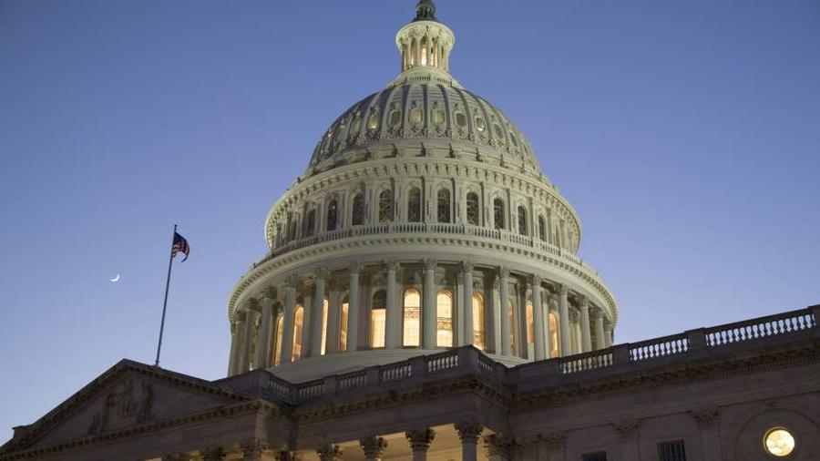 Capitolio de EEUU en una foto de archivo