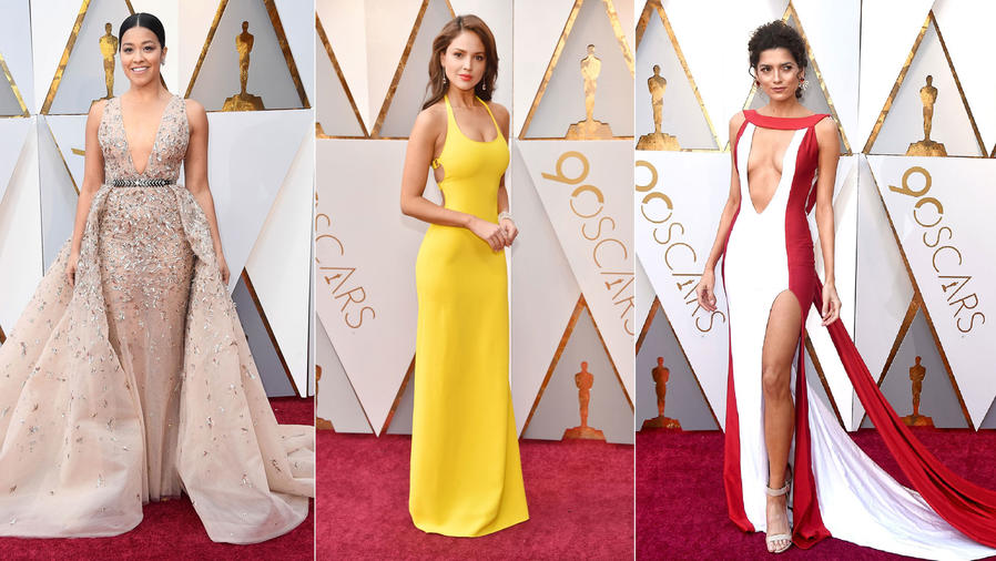 Gina Rodriguez, Eiza González, Blanca Blanco en los Oscars 2018