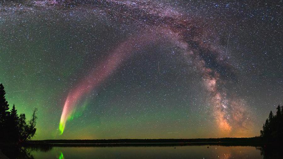 Aurora boreal Steve