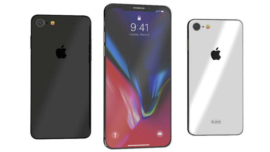 Diseño del iPhone X SE