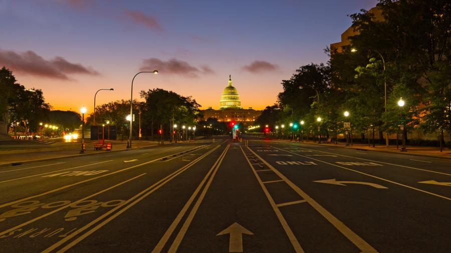 Calle de Washington D.C.