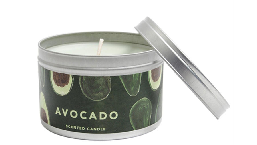 Avocado scented candle