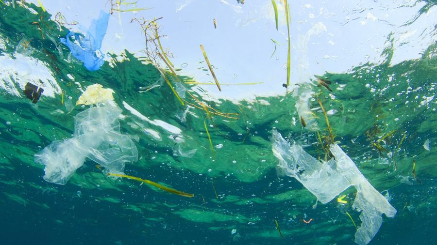 Basura en el océano