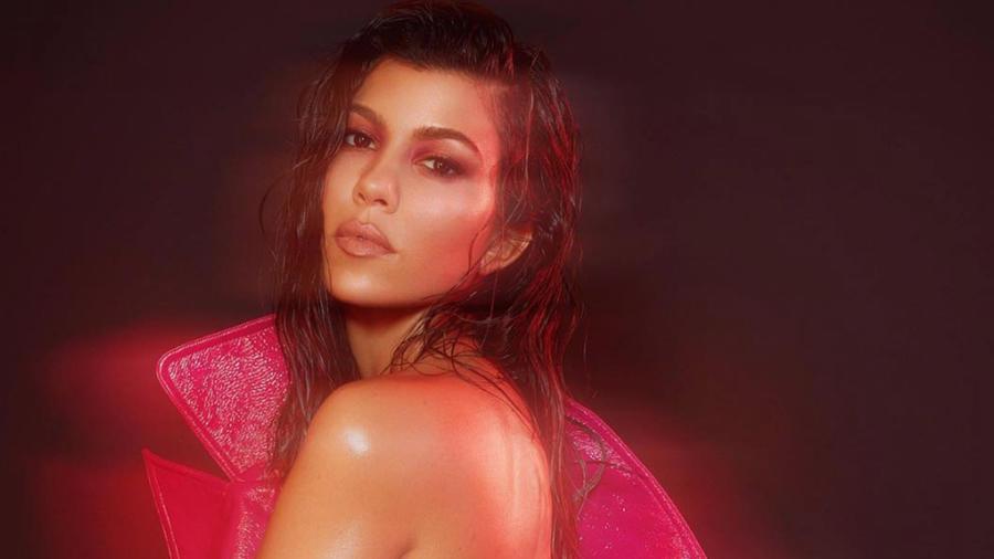 Kourtney Kardashian Sizzles in Nude Shoot