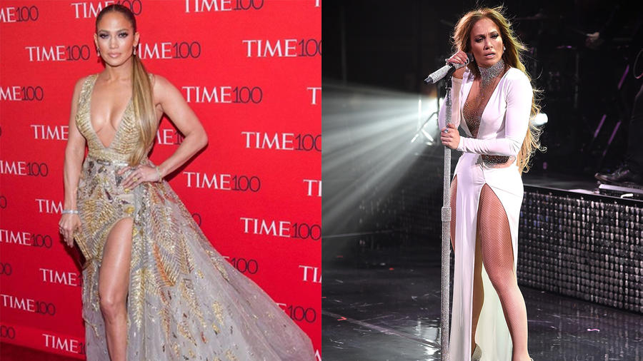 Jennifer Lopez at the TIME 100 Gala