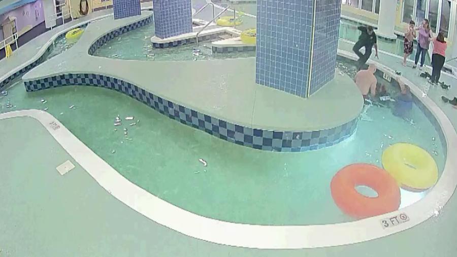 Rescate de niño en el hotel de una piscina en Carolina del Sur