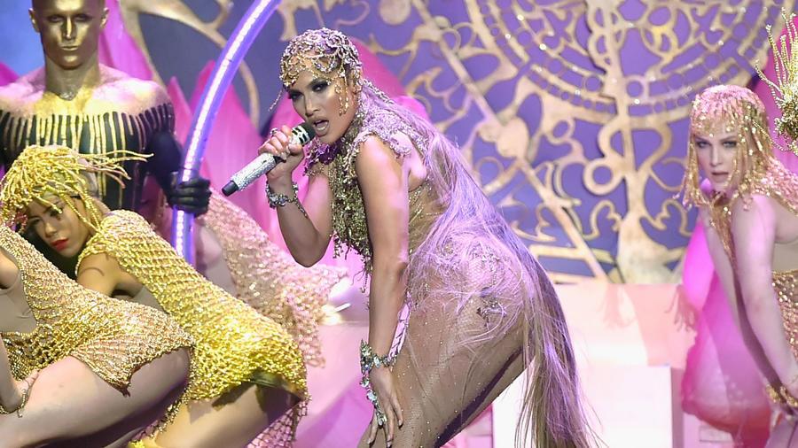 Jennifer Lopez en los Premios Billboard 2018