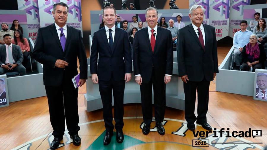 Candidatos a la presidencia de México.