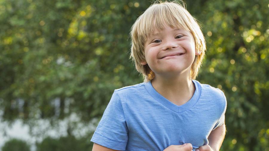 Niño Síndrome de Down