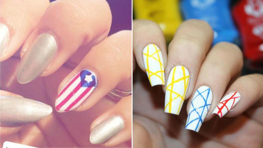 Nail art latinos