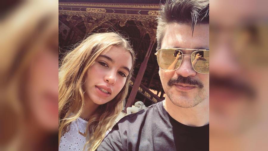 Juanes con su hija Luna