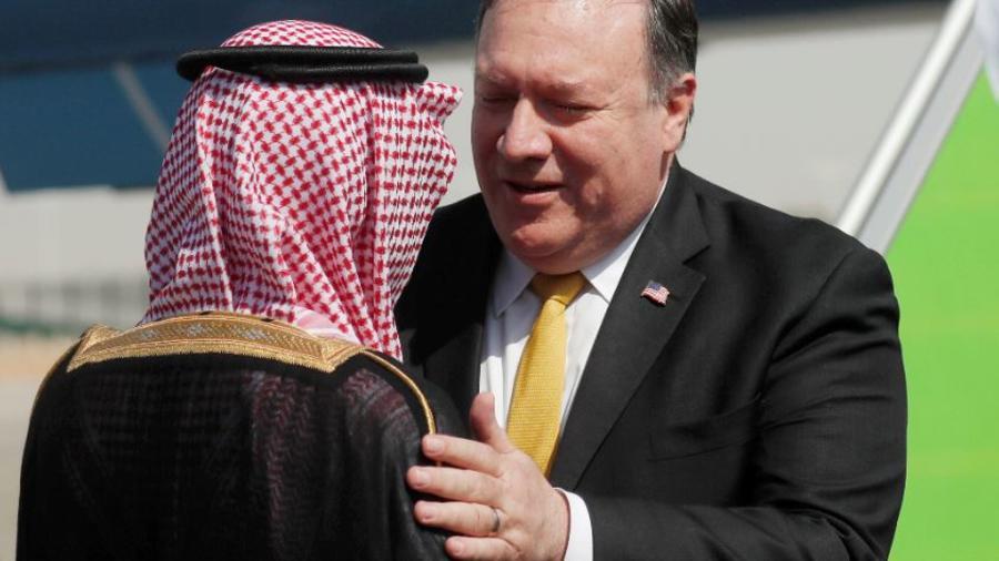 Pompeo se reúne con el rey de Arabia Saudí tras la desaparición de Khashoggi